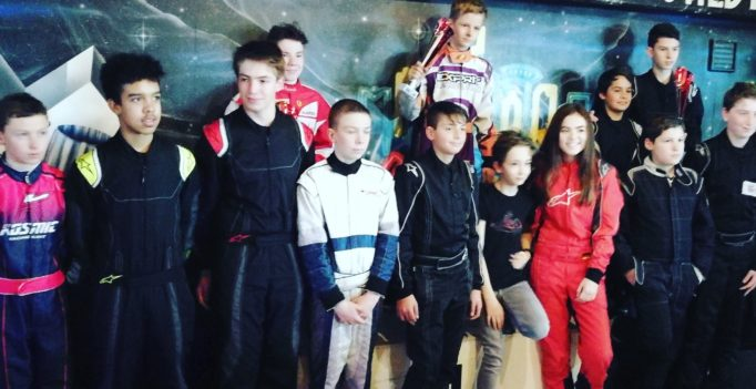 Swiss Karting League GP Schwarzwald Sieg Junioren