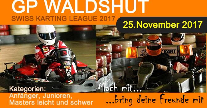 Indoor Kartrennen Meisterschaft Finale Kartbahn Waldshut