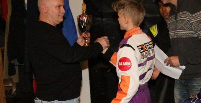 Vizemeistertitel Swiss Karting League 2018 Junioren